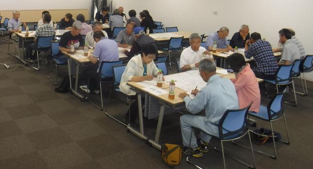 4地区合同防災勉強会の実施