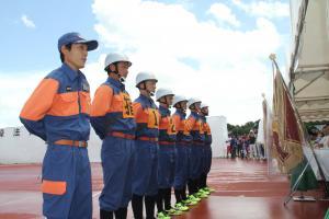 第55回千葉県消防操法大会で優勝02