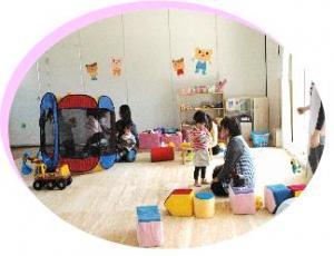 子育て支援センター室内写真