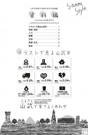 山武市制施行10周年記念市勢要覧 資料編