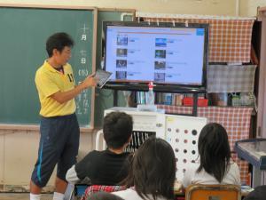 小学校5年生 理科「天気」の授業02