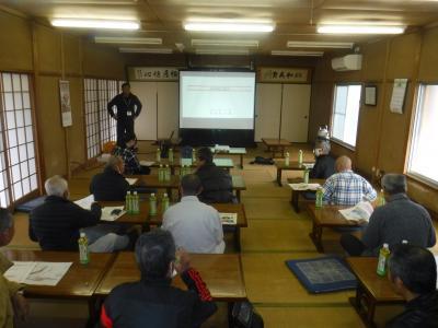 富田西地区防災講話の実施について