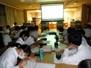 防災講話(山武中学校)2