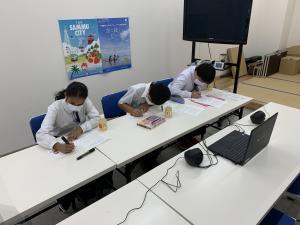ミルカ交流会中学生